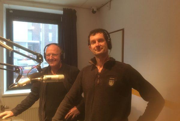 Witho en Jeroen bij radio NH