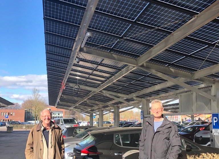 Plan voor zonneparkeerplaats in Kerkelanden